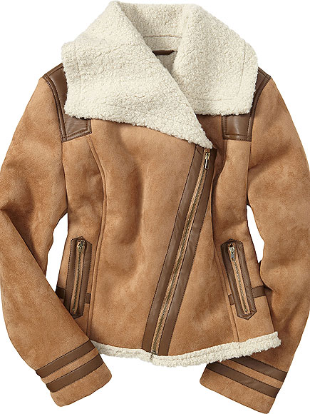 OLD NAVY FAUX SHEARLING, $45