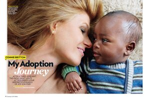 Image result for Connie Britton adoption