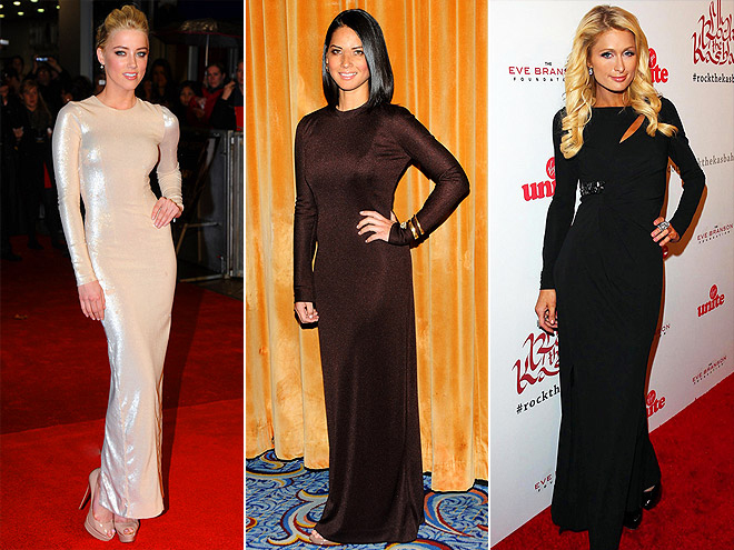 LONG-SLEEVE GOWNS