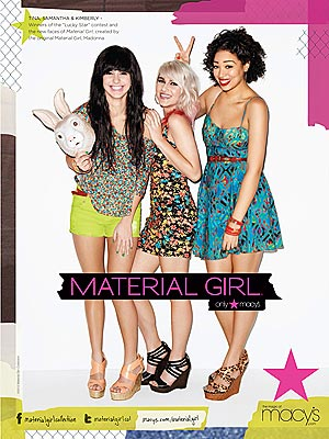 Material Girl Ads