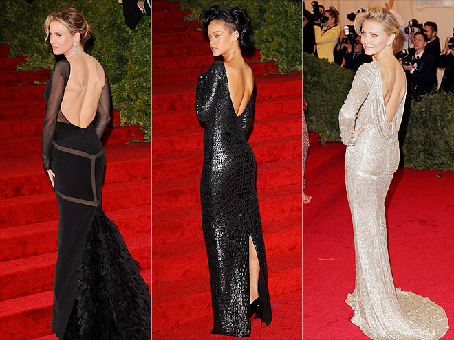 BACKLESS GOWNS