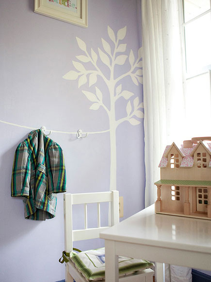 HANG ITEMS AT KID HEIGHT