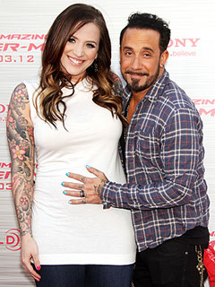 A.J. McLean Welcomes Daughter Ava Jaymes