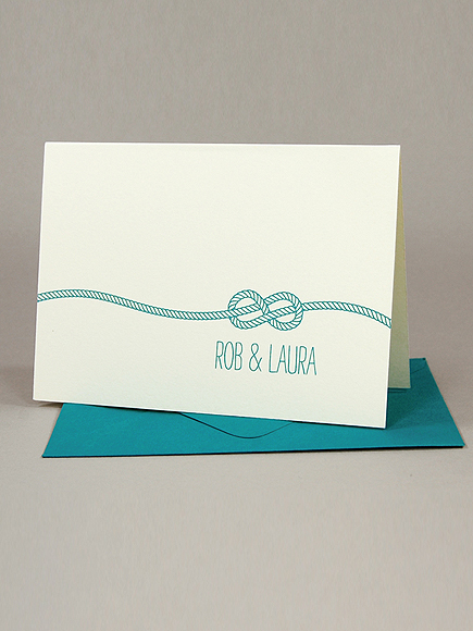 SILHOUETTE BLUE STATIONERY