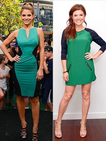 GREEN-AND-BLACK DRESSES