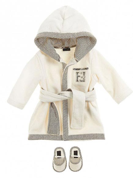 LUXE ROBE & SLIPPERS: $328