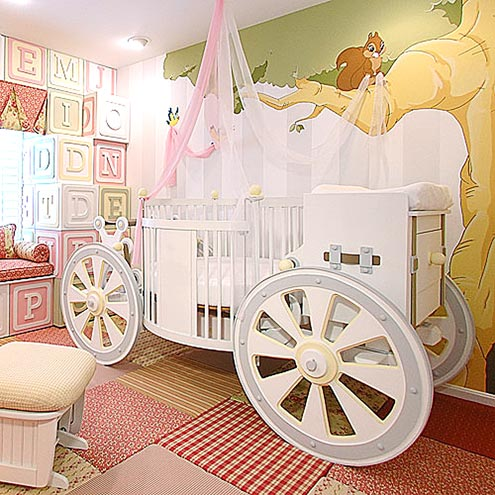 PRINCESS-WORTHY CRIB: $20,000