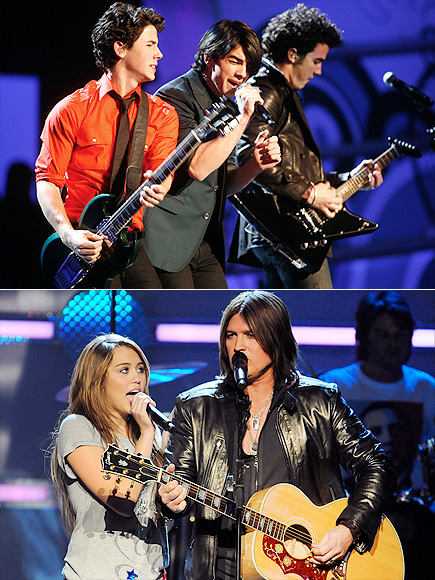 BILLY RAY & MILEY CYRUS & THE JONAS BROTHERS