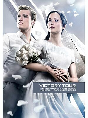 The Hunger Games Katniss Peeta S Victory Tour Look Photo