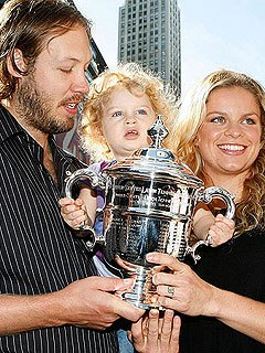 Kim Clijsters Pregnant Expecting Second Child