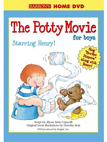 THE POTTY MOVIE & BOOK