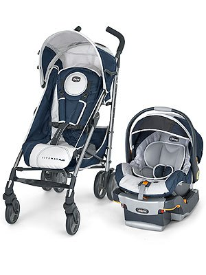 Chicco Liteway Plus Stroller and KeyFit 30 Infant Car Seat Giveaway