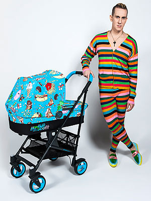 Jeremy Scott Cybex Food Fight Collection Debut