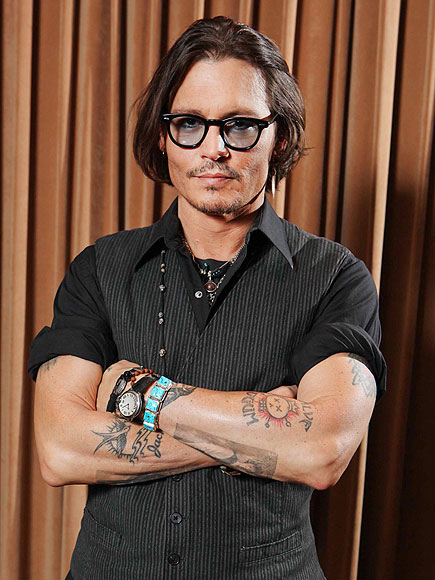 Johnny Depp A Map Of His Tattoos People Com