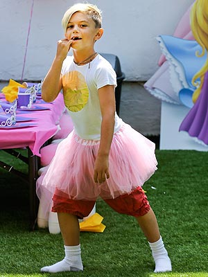 Kingston Rossdale Tutu Gwen Stefani