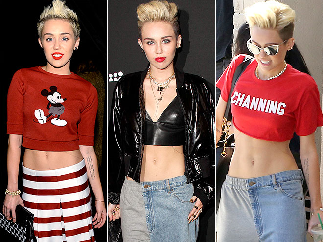 MILEY'S ABS
