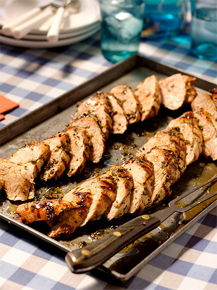 HERB-RUBBED GRILLED PORK TENDERLOIN