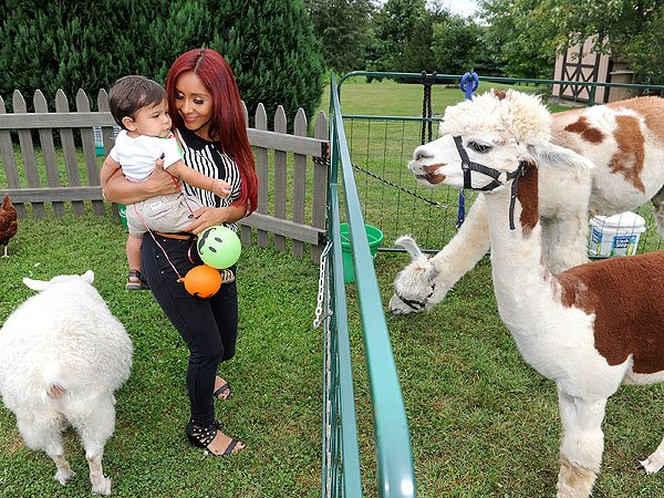 Snooki Lorenzo Birthday Party