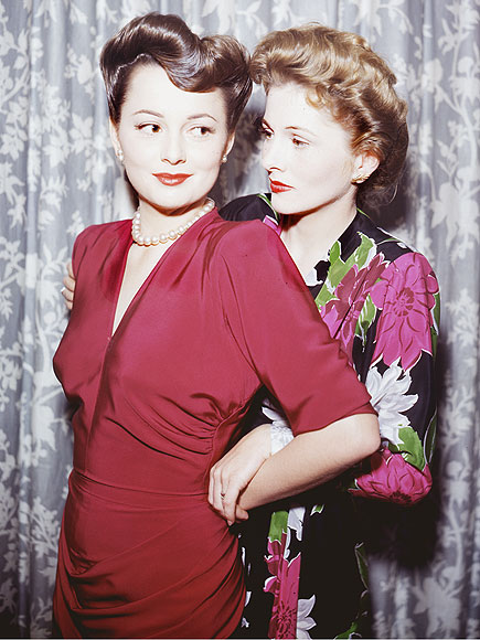 OLIVIA DE HAVILLAND & JOAN FONTAINE