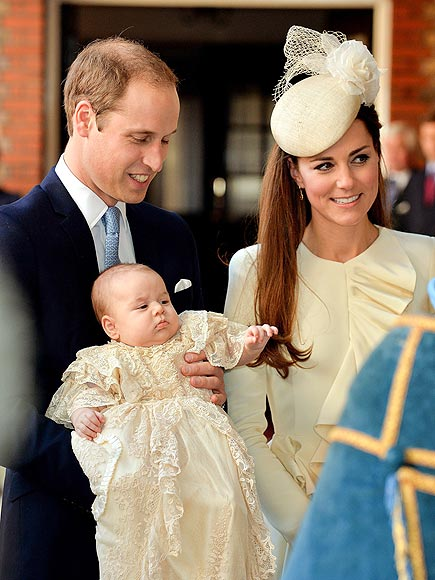 A ROYAL CHRISTENING