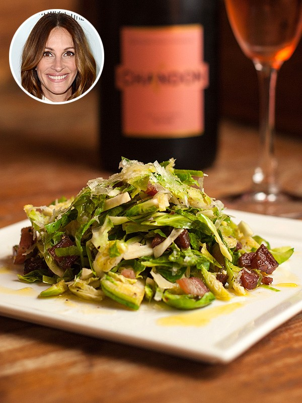 Julia Roberts Brussels Sprout Salad Napa Valley Grille