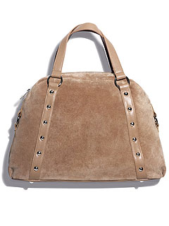 Avon Mark Taupe of the Line Bag
