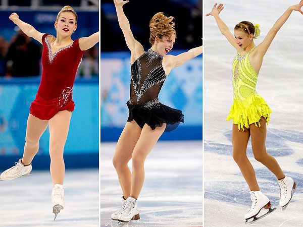 Gracie Gold, Ashley Wagner costumes