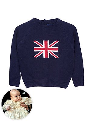 Prince George Royal Tour Packing List Trotters Union Jack Sweater