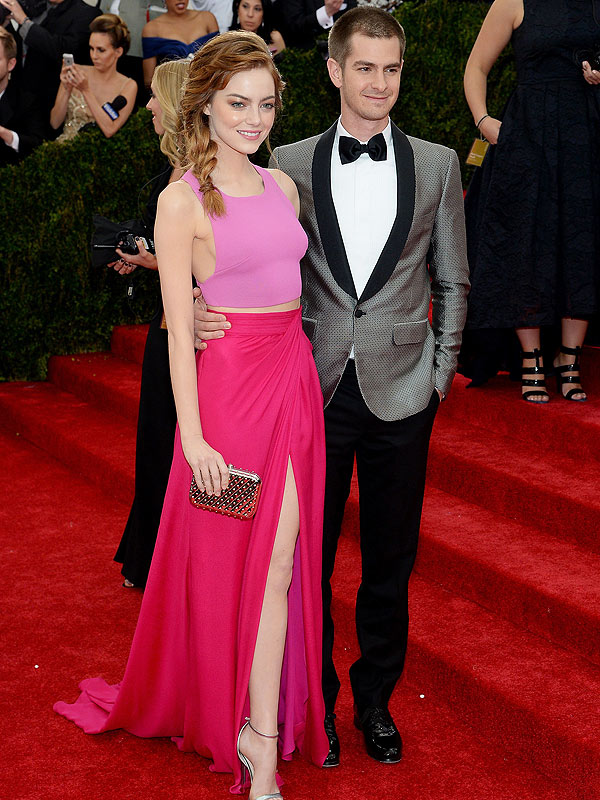 Emma Stone and Andrew Garfield Met Gala