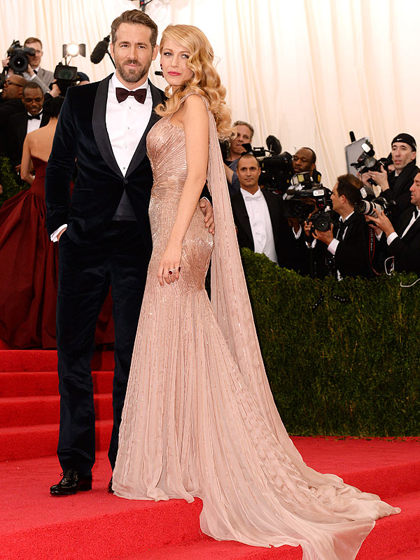 Blake Lively and Ryan Reynolds Met Gala