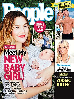 Drew Barrymore Introduces Daughter Frankie