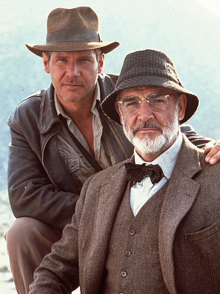 Jun 01, 1989; Hollywood, California, USA; 1989, Film Title: INDIANA JONES AND THE LAST CRUSADE, Pictured: SEAN CONNERY.
