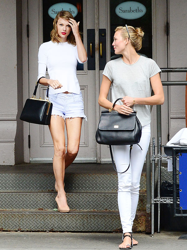 Taylor Swift and Karlie Kloss Brunch at Sarabeth's in Tribeca
