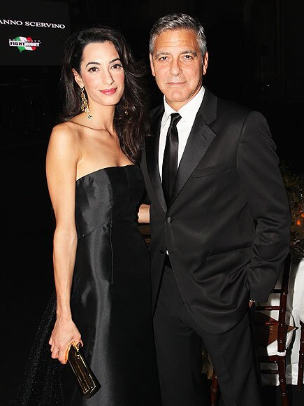George Clooney Wedding Star Marries Amal Alamuddin In Venice Italy People Com