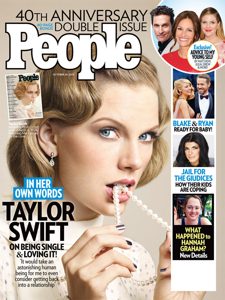 Taylor Swift, 40th Anniversary Cover