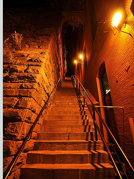 THE EXORCIST STEPS, WASHINGTON, D.C.