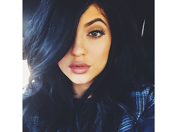 Kylie Jenner fake lips