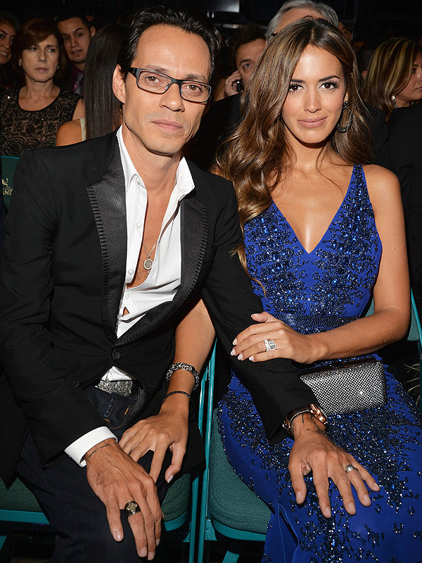 Marc Anthony and Shannon de Lima wedding rings