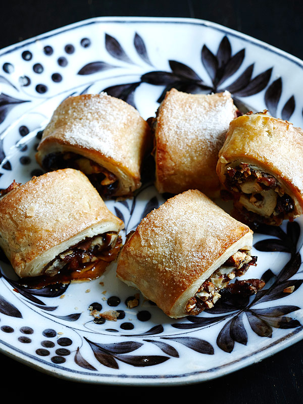 Rugelach with Cranberries, Pecans and Apple Butter from Apt 2B Baking Co.