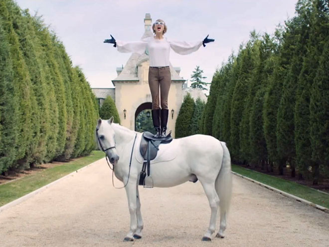 STEP 9: STAND ON A HORSE