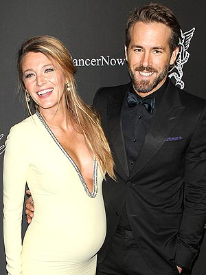 Ryan Reynolds Blake Lively Welcome First Child