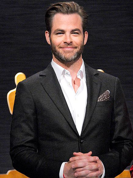 15 January 2015 - Los Angeles, California - Chris Pine. 87th Annual Academy Awards Nominations Announcements.