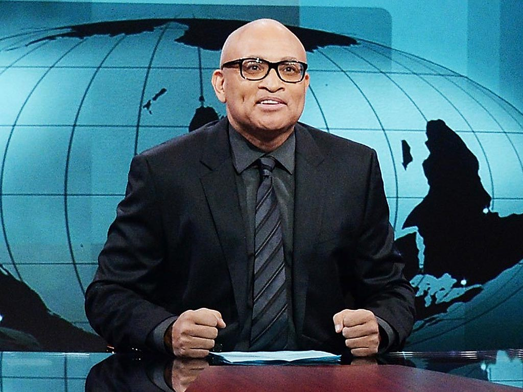 Larry Wilmore on The Nightly Show with Larry Wilmore