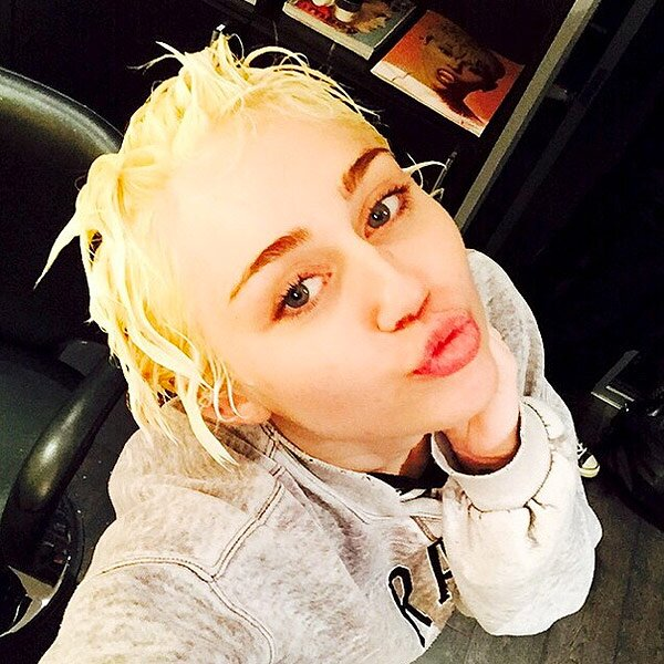 Photos Miley Cyrus Bleached Blonde Hair Miley Cyrus Style People Com