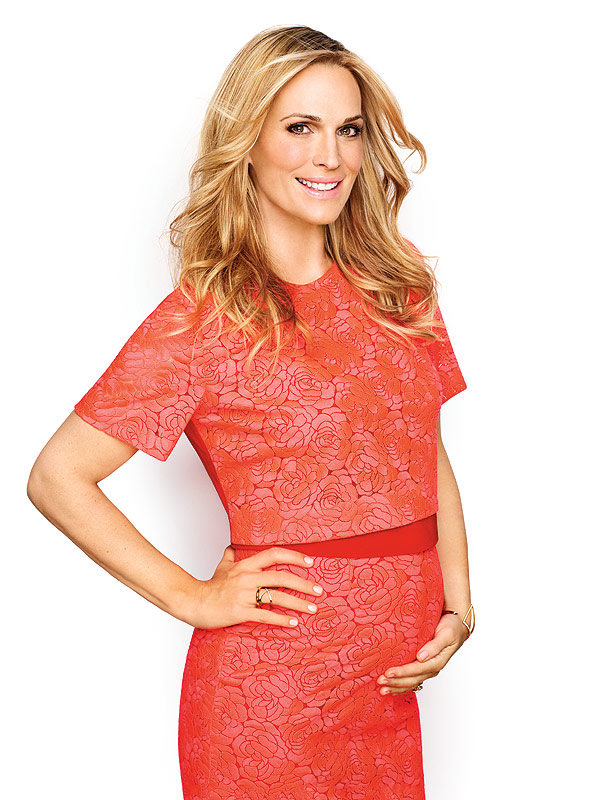 Molly Sims Fit Pregnancy cover