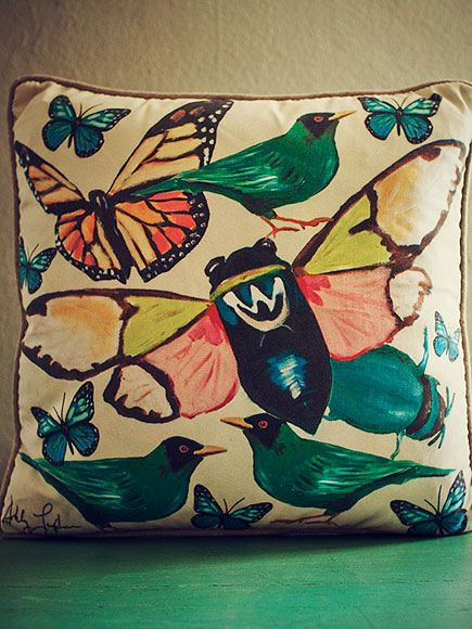 SARAH ASHLEY LONGSHORE SPRING PILLOW