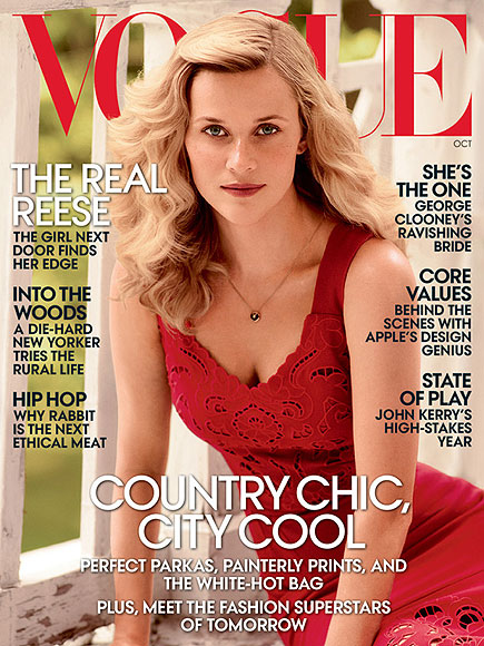 SHE COVERED VOGUE