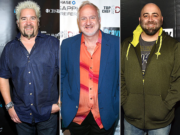 Guy Fieri, Art Smith, Duff Goldman
