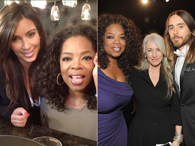 THEY'RE BOTH TIGHT WITH OPRAH