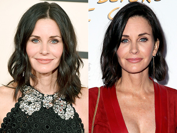 Courteney Cox Cuts Her Hair Short Courteney Cox Gets A Lob People Com